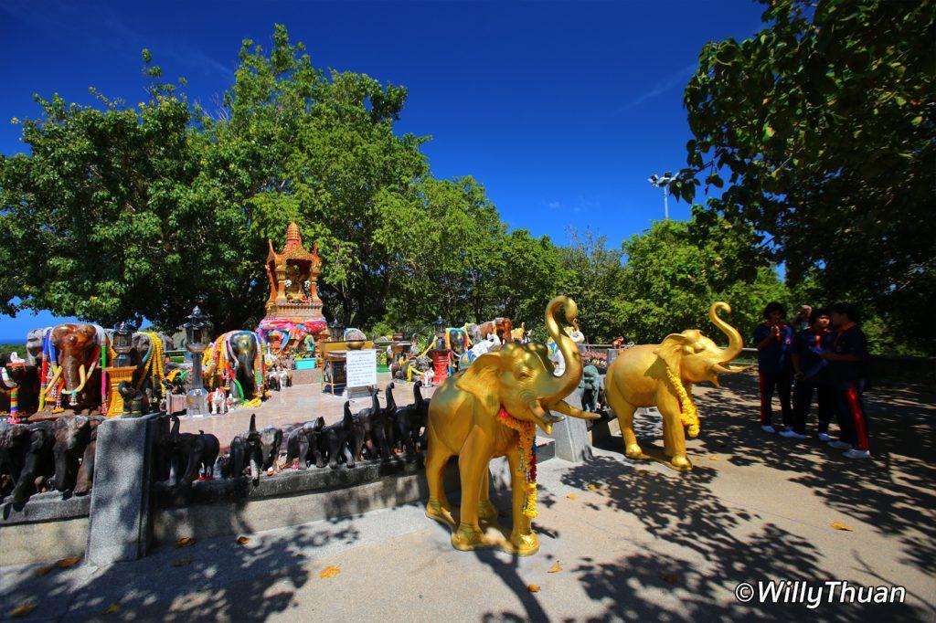 Promthep Elephant Shrine