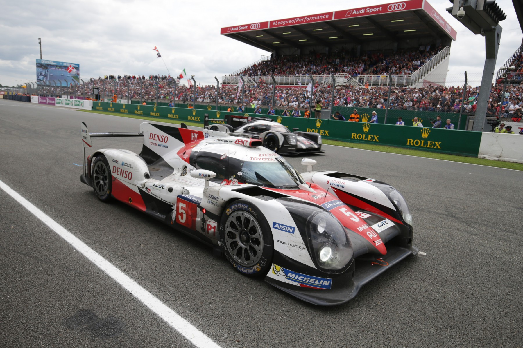 HEARTBREAK FOR TOYOTA GAZOO RACING AT LE MANS