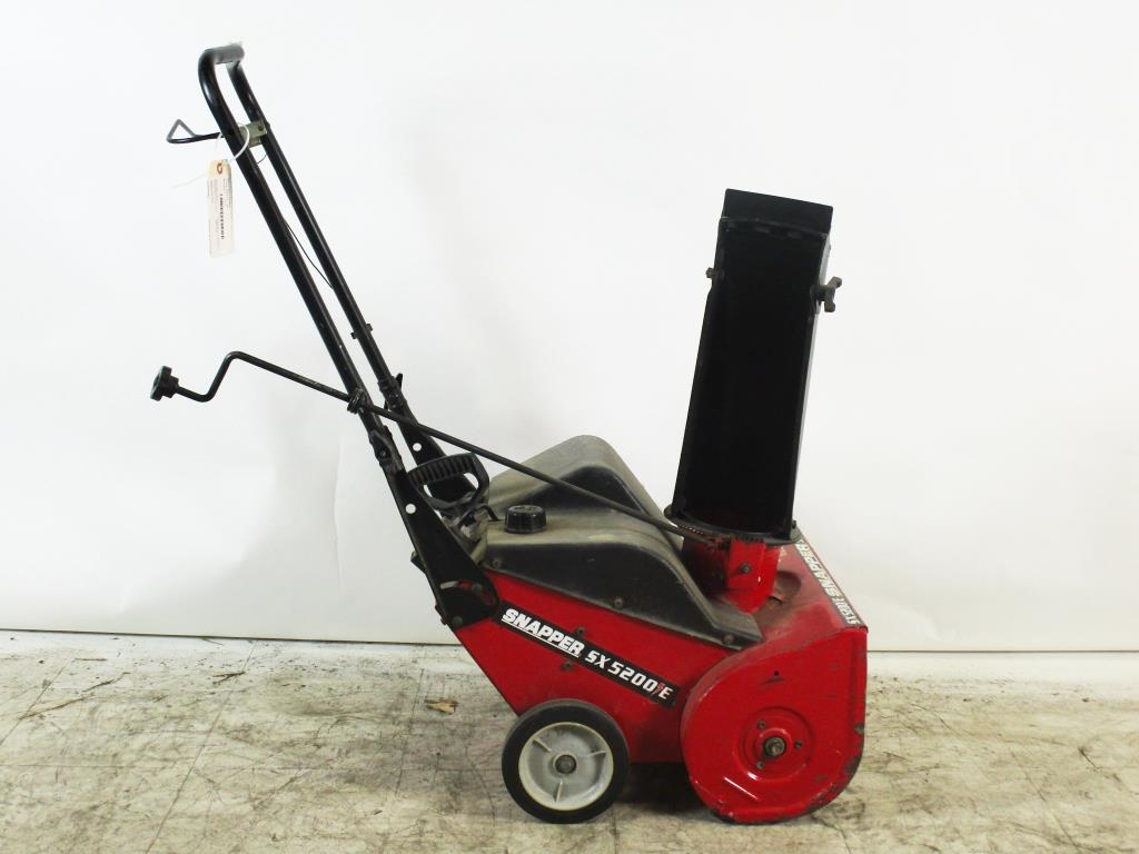 Fullsize Of Snapper Snow Blower
