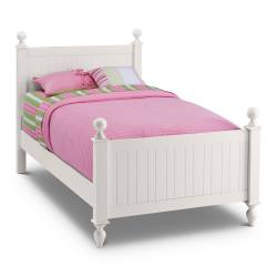 Small Crop Of White Twin Bed