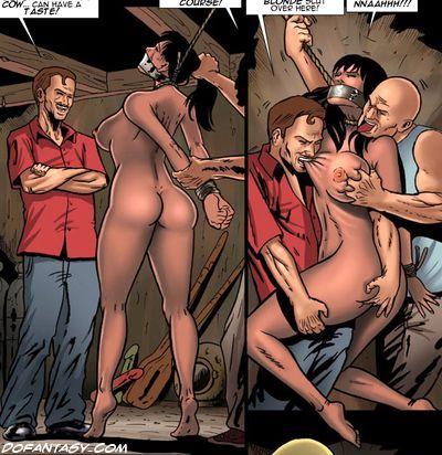 bdsm male slaves art
