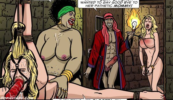 harem slave satisfying master