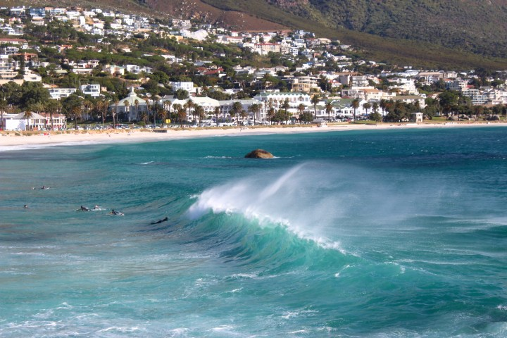 Camps Bay surfers