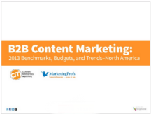 b2b marketing stats 2013