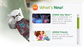 what's new-lego home page
