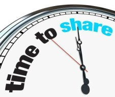 time to share-content marketing teams