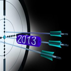 arrows in target-2013 prediction hits