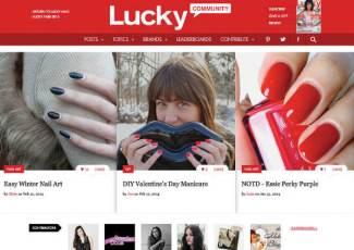 lucky community images-nails-lips