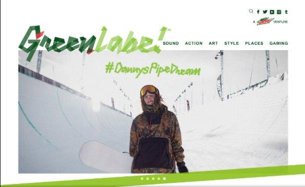 snowboarder in parka-danny's pipe dream