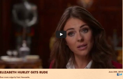 woman's face-elizabeth hurley