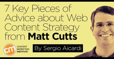 Stratégie de contenus : 7 conseils de Matt Cutts