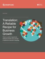 Smartling - Translation A Reliable Recipe for Business Growth cover image