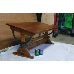 Small Crop Of Antique Drafting Table