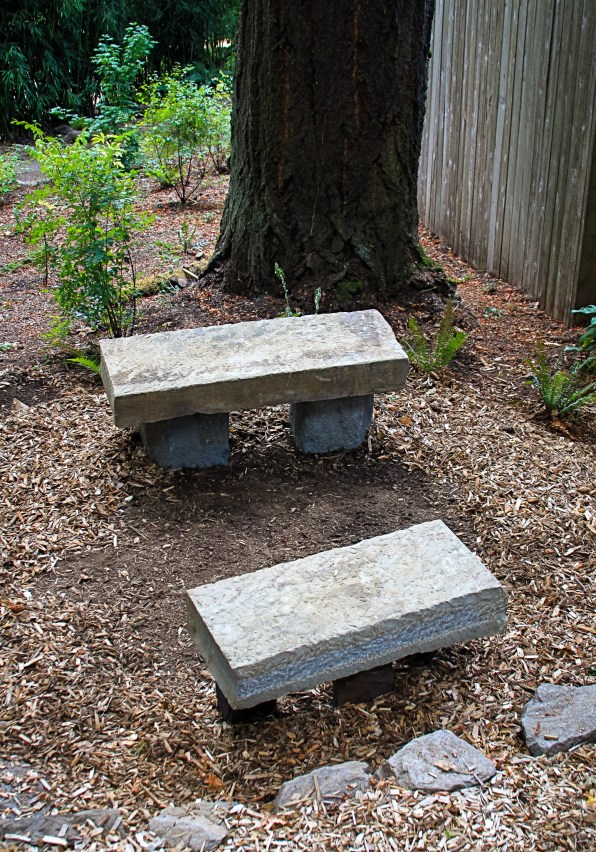 Eric Contey Stonework: Two gathering benches