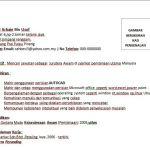 Contoh Resume Jurutera Awam