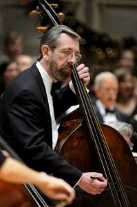 Double bassist and early music specialist Jerry Fuller