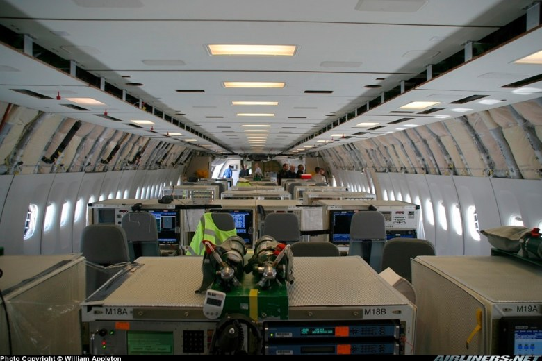 Photos  Boeing 777 240 LR Aircraft Pictures %7C Airliners.net 20120720 164940 Inside a Chemtrail Plane   Amazing Photos