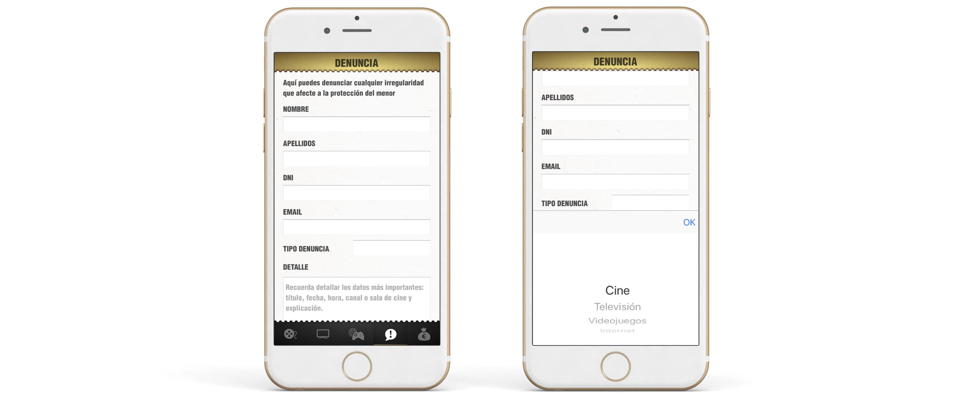 App Criticas Denuncia Contraste