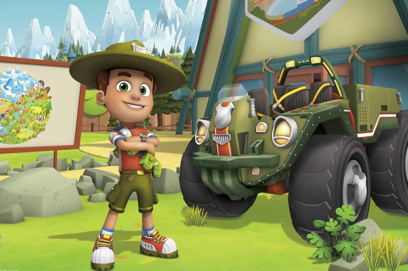 Ranger Rob critica serie animación