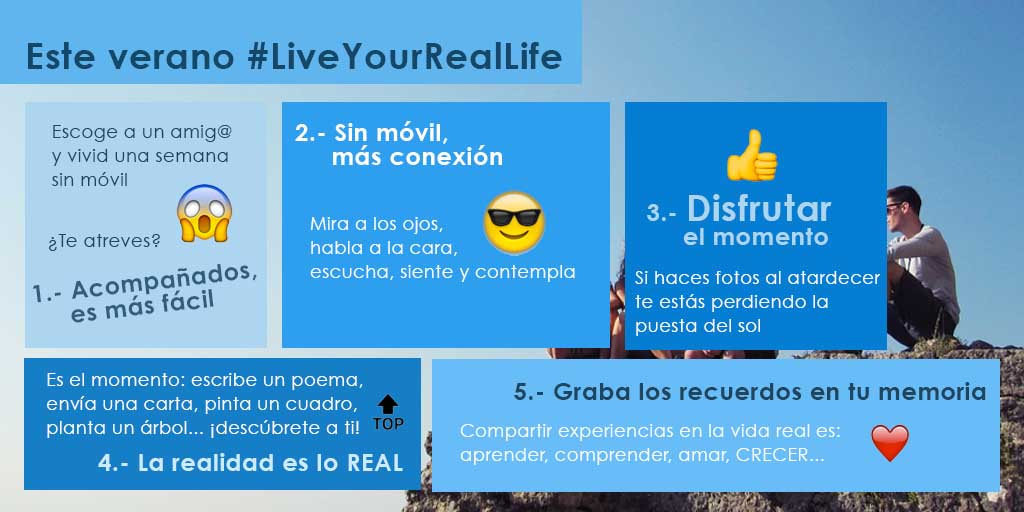 Live Your real life