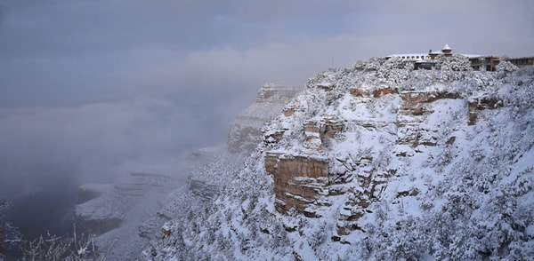 Grand Canyon National Park: Winter Storm Sunset 2756