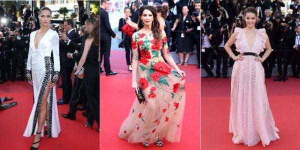 86114-cannes-2016-frederique-bel-glamour-en-robe-fleurie-adriana-lima-et-barbara