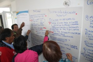 Votos participantes por temas de mayor incidencia en el territorio