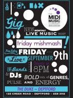 The Midi Music Company Presents 'Mish Mash' Fridays | Events