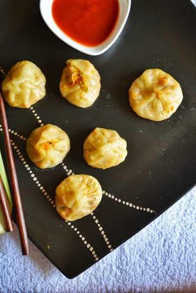 Veg momos recipe | How to make veg momos | How to make steamed veg momos recipe