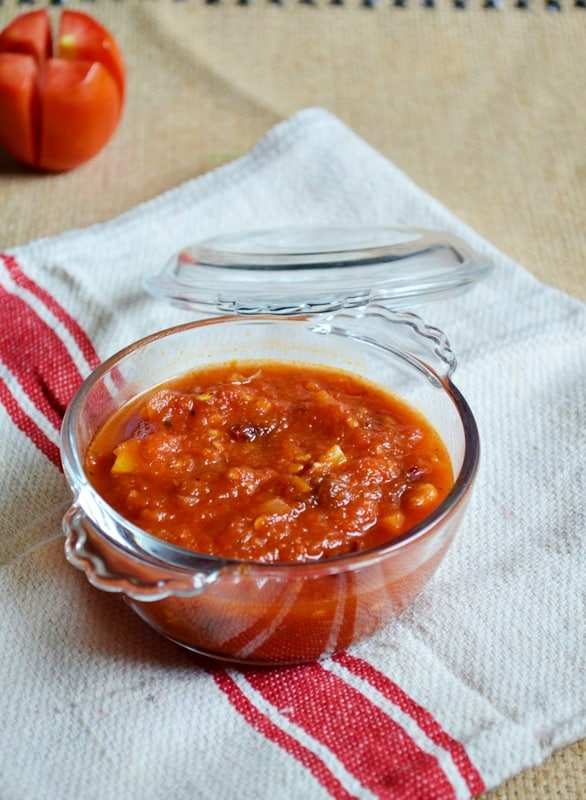 easy fresh tomato pizza sauce recipe food blog