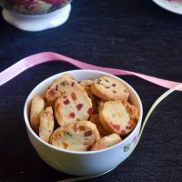 Eggless fruit cookies recipe | tutti frutti cookies recipe