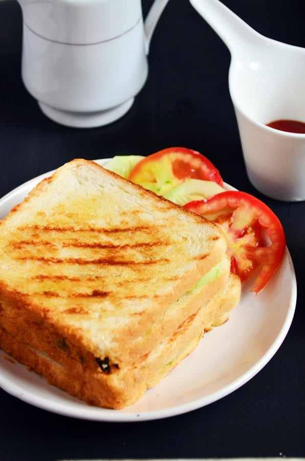 Bombay grilled sandwich recipe-b