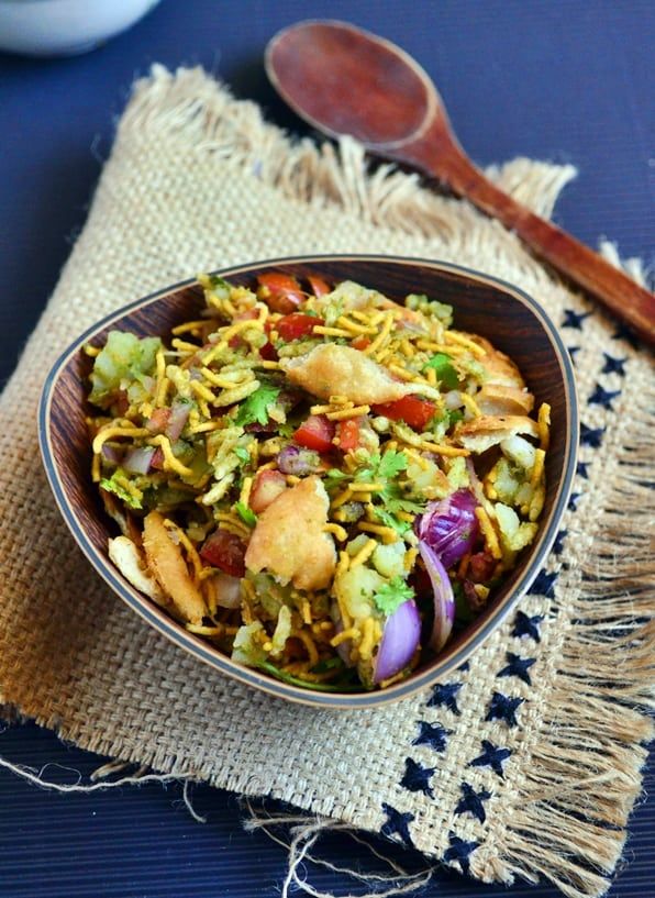 bhel puri recipe-a