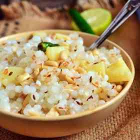 recipe of sabudana khichdi
