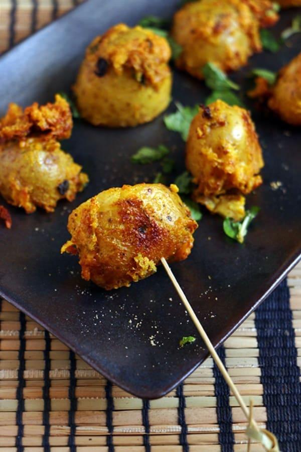 tandoori potato recipe
