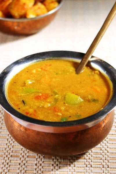 Sambar recipe | South Indian sambar recipe | Vegetable sambar recipe
