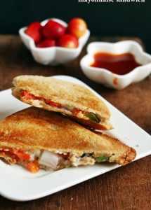 Mayonnaise sandwich recipe | Easy sandwich recipes