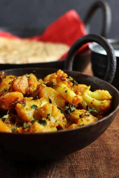 Aloo gobi recipe | How to make aloo gobi dry recipe