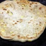 cheese corn paratha step 5