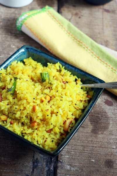Lemon aval upma recipe |No onion garlic recipes