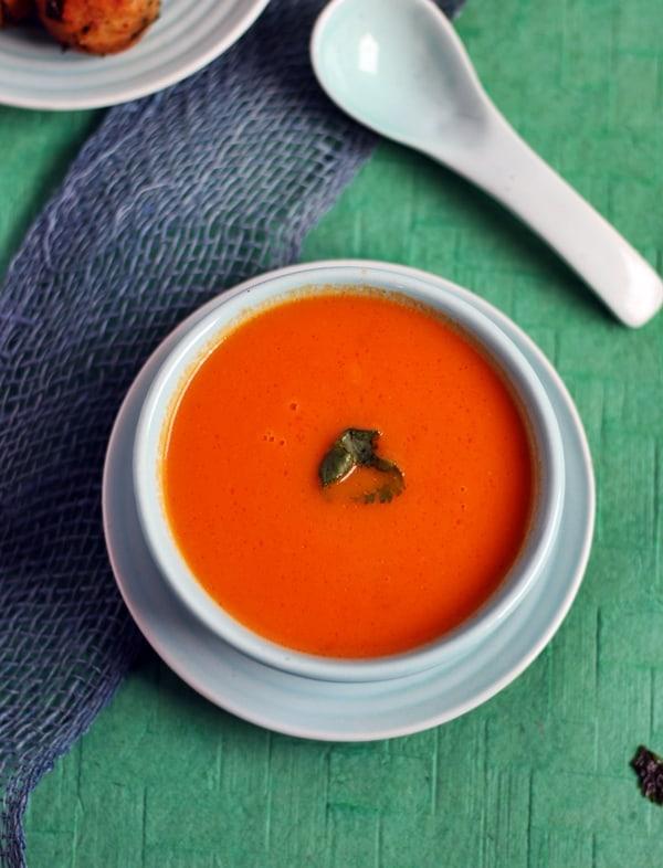 carrot tomato soup recipe d