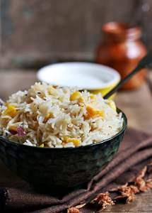 corn pulao recipe | Easy rice recipes