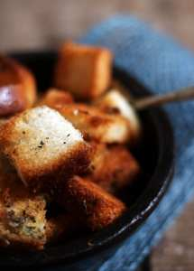 Crouton recipe | Homemade crouton recipe