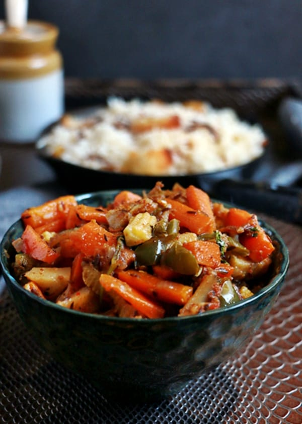 mixed veg curry recipe b