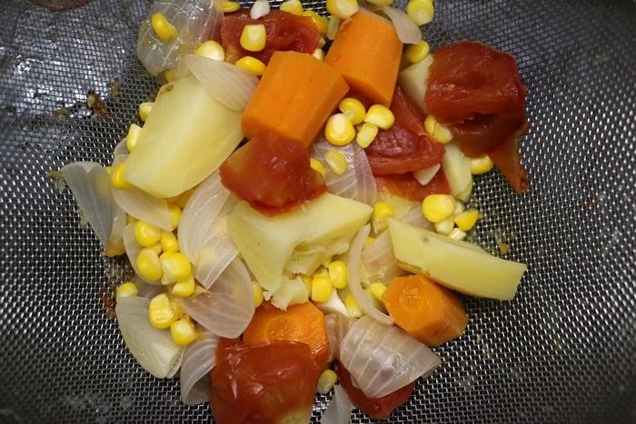 veg pasta soup step 5