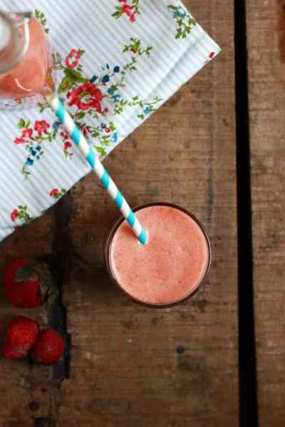 Strawberry apple smoothie recipe