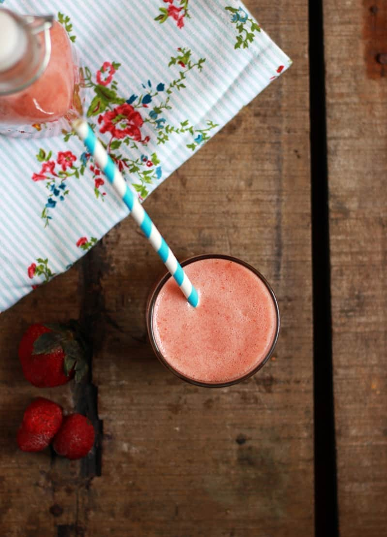 apple strawberry smoothie recipe a