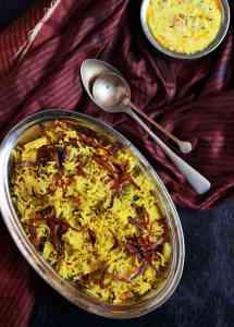 Tahiri recipe, vegetable tahiri recipe