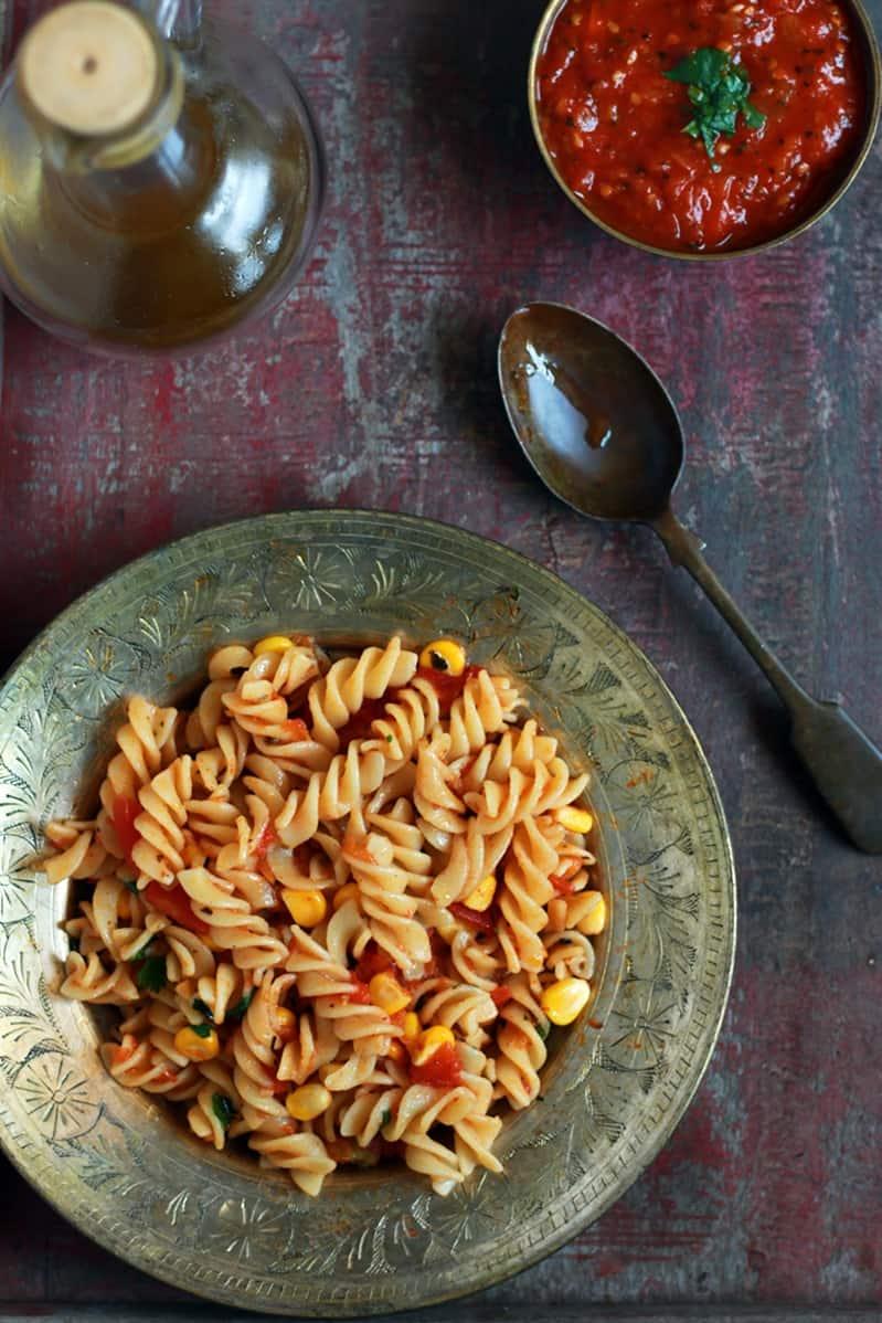 pasta with marinara sauce recipe b