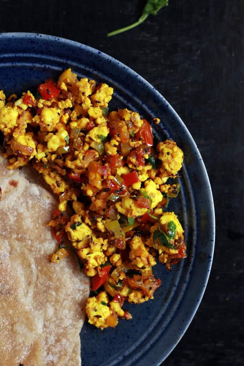 paneer bhurji recipe d
